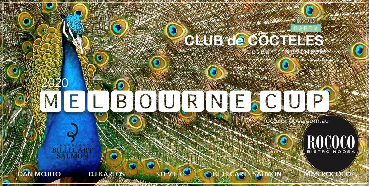 Melbourne Cup Rococo Jockey Club Marquee